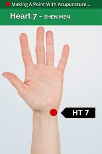 heart 7 acupoint